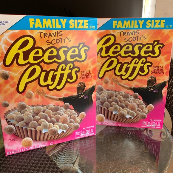 Other - Travis Scott Reeses puff cereal